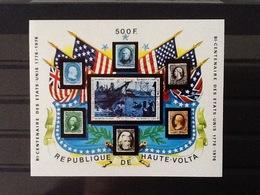 Republique De Haute Volta Block Bicentenaire USA . - Haute-Volta (1958-1984)