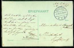 VELDPOST HANDGESCHREVEN BRIEFKAART MILITAIR Gelopen In 1915 Van WILLEMSTAD Naar VUGHT  (11.508n) - Periode 1891-1948 (Wilhelmina)