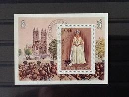 Republique De Haute Volta Block Reine Elisabeth. - Upper Volta (1958-1984)