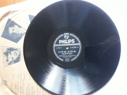 Philips  -  1954  Nr. B 21315  Johnnie Ray.  Orchestra Percy Faith - 78 T - Disques Pour Gramophone