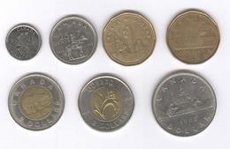 Lot De 7 Monnaies Canada TTB à Sup - Canada