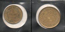 Tunisie. Bon Pour 1 Et  Bon Pour 2 Francs . 1945 - Tunisie