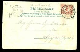GESCHREVEN BRIEFKAART Gelopen In 1905 Van VALKENBURG Naar SPIJK (GRONINGEN)  (11.508p) - Periode 1891-1948 (Wilhelmina)