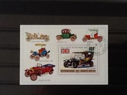 Republique De Haute Volta Block Cars. - Upper Volta (1958-1984)