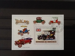 Republique De Haute Volta Block Cars. - Haute-Volta (1958-1984)