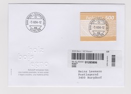 SUISSE 2004:  'Le Bois Suisse', Timbre En Bois Sur FDC - Gebraucht