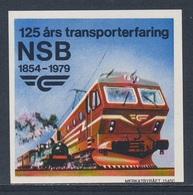 Norway Norge Norwegen 1979 ** 125 års Transporterfaring NSB 1854-1979 / Transport Experience / Transporterfahrung - Treinen