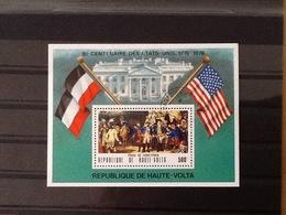 Republique De Haute Volta Block Prise De Yorktown. - Haute-Volta (1958-1984)