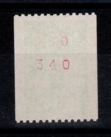 YV 3458a N** Numero Rouge Au Verso, Variete 1,5 Numeros Rouges - Variétés Et Curiosités