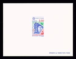 FRANCE EPREUVES DE LUXE N° 2696/97 (*) Europa 1991 - L'Europe Et L'Espace. 2 Valeurs. Cote Yvert 180 €. TTB - Luxury Proofs