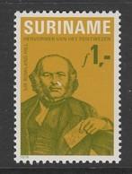 TIMBRE NEUF DU SURINAM - 100E ANNIVERSAIRE DE LA MORT DE SIR ROWLAND HILL N° Y&T 769 - Rowland Hill