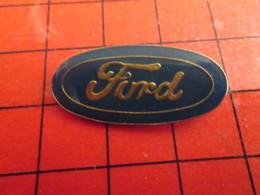 1717 Pin's Pins / Beau Et Rare : THEME AUTOMOBILES / LOGO DE LA MARQUE FORD - Ford