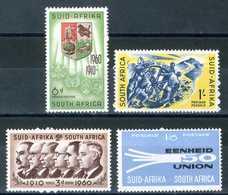 SUD AFRICA 1960** -  4 Val. MNH, Come Da Scansione. - Sud Africa (1961-...)