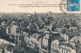 CPA - France - (37) Indre Et Loire - Tours - Le Quartier Des Halles, Basilique St-Martin - Tours