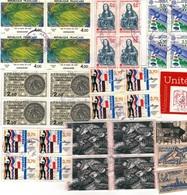 Lot Timbres De France Avec Bloc De 4 - France