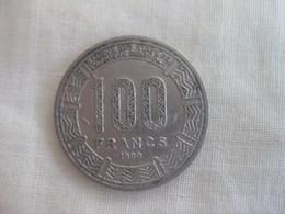 République Centrafricaine: 100 CFA 1990 - Central African Republic