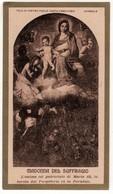 Santino Antico Madonna Del Suffragio Da Acireale - Catania - Religione & Esoterismo