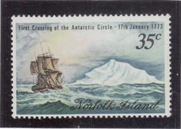 VV5 - NORFOLK ISLAND 131** MNH De 1973 - James COOK Passe Le Cercle Polaire Antarctique Le 17 JANVIER 1773 - - Ile Norfolk