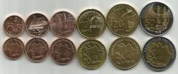 Azerbaijan (2006) ND Set Of 6 High Grade Coins - Azerbaïdjan