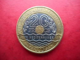 France 20 Francs 1993 Mediterranean Games - L. 20 Franchi