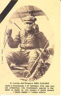 ITALIA - Domodossola - Ricordo Di GEO CHAVEZ, Morto Il 27 Sett. 1910, Nimata, Viag.1910 - 2019-286 - Aviatori
