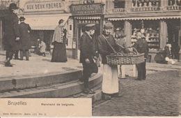 Bruxelles Marchand De Beignets 1902 - Petits Métiers