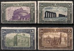 [829704]Italie 1930 - N° 254/57, Milice Volontaire, 1 Léger Mince Et 1 Rousseur, SC - Nuovi