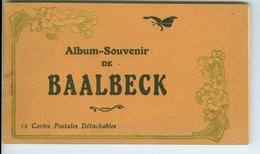 12 CP Baalbeck En Carnet Avec Papiers De Soie - Liban