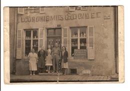 08 - Neufmanil - L'Economie Sociale - Route D'Aiglemont  (carte Photo) - France