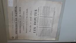 Mines De Houille à Andenne En 1820 - Posters