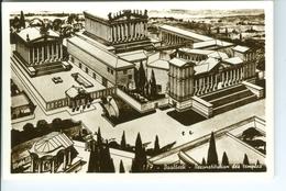 5 CP Photos Baalbeck Temples De Jupiter Et De Bacchus Et Reconstitution Des Temples Lebanon Liban - Liban