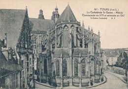CPA - France - (37) Indre Et Loire - Tours - La Cathédrale St-Gatien - Abside - Tours
