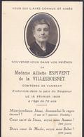 Souvenez Vous De Aliette Espivent De La Villeboisnet Comtesse De Vanssay + 15 Février 1935 - Noble Noblesse - Obituary Notices