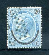 1865 REGNO N.24 USATO - 1861-78 Vittorio Emanuele II