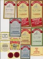 Lot -    Etiquettes De PARFUM  Marque Différentes - Etiquettes