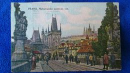 Praha Malostranská Mostecká Věž Czech - Repubblica Ceca