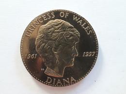 Médaille DIANA 1961 1997 Princess Of Wales. Lady Di - Belgique