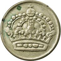 Monnaie, Suède, Gustaf VI, 50 Öre, 1957, TTB, Argent, KM:825 - Suède