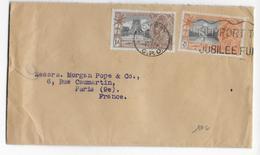 INDIA - 1935 - ENVELOPPE De BOMBAY Avec OMEC Du JUBILE => PARIS - India (...-1947)