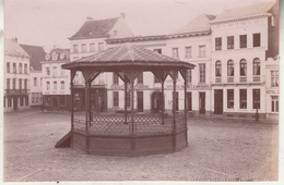 Dendermonde - Plaats - 1896 - Foto Formaat 7 X 11 Cm - Plaatsen