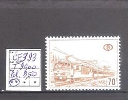 Belgique TR 393 P4 ** MNH   Cote COB :  8,50 €. - Chemins De Fer