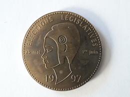 Médaille Assemblée Nationale Élections Législatives 1997 - Belgique