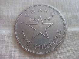 Ghana: 2 Shillings 1958 - Ghana