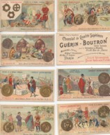 Chromos GUERIN-BOUTRON Série De 84 Chromos Histoire De La Monnaie Française (manque N°76) - Guérin-Boutron