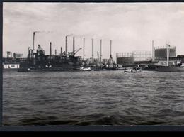 Rotterdam, Photo Format CPA De 1955, Vue De L'usine à Gaz Et La Centrale Electrique - Rotterdam