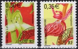 FRANCE Préo 246 Et 247 ** MNH Fleur Sauvage Orchidée Fleurs Vertes Et De Savoie (CV 6 €) - Préoblitérés