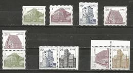 Ireland - 1983-5 Architecture Singles & Pairs MNH ** - 1949-... Republic Of Ireland