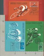 ITALIA - 1962 MAXIMUM - Milano Brescia CAMPIONATI MONDIALI CICLISMO - Cartoline Ufficiali Con Annullo Dedicato - Ciclismo