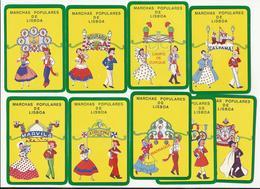 9 Calendars * Marchas Populares De Lisboa * Portugal * 1989 * Lisboa - Calendriers