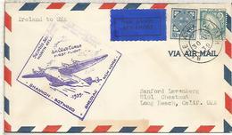 IRLANDA 1939 PRIMER VUELO A NEW YORK FIRST FLIGHT - Aéreo